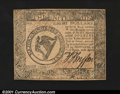 Colonial Notes:Continental Congress Issues, Continental Currency April 11, 1778 $8 Choice About New. A ...
