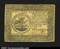 Colonial Notes:Continental Congress Issues, Continental Currency September 26, 1778 Very Fine. Well mar...
