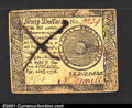 Colonial Notes:Continental Congress Issues, Continental Currency September 26, 1778 $60 Contemporary Coun...