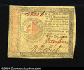 Colonial Notes:Continental Congress Issues, Continental Currency January 14, 1779 $2 Choice About New. ...