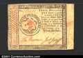 Colonial Notes:Continental Congress Issues, Continental Currency January 14, 1779 $3 Very Fine-Extremely ...