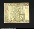 Colonial Notes:Connecticut, Connecticut July 1, 1780 2s6d Choice New. Slit canceled, an...