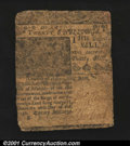 Colonial Notes:Delaware, Delaware February 28, 1746 20s Fine. This tightly margined ...