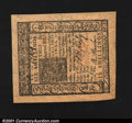 Colonial Notes:Delaware, Delaware January 1, 1776 6s Superb Gem New. Broadly margine...