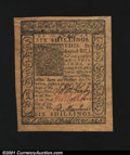 Colonial Notes:Delaware, Delaware January 1, 1776 6s Gem New. A Superb note but for ...
