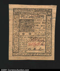 Colonial Notes:Delaware, Delaware January 1, 1776 10s About New. Broadly margined, b...