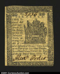 Colonial Notes:Delaware, Delaware May 1, 1777 6d About New. A scarce Small Change De...