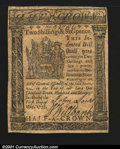 Colonial Notes:Delaware, Delaware May 1, 1777 2s6d About New. Well signed and very w...