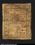Colonial Notes:Delaware, Delaware May 1, 1777 6s Fine-Very Fine. Slightly soiled but...