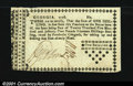 Colonial Notes:Georgia, Georgia 1776 Sterling Issue 1s Choice Extremely Fine. One o...