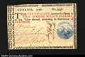 Colonial Notes:Georgia, Georgia 1776 $2 Blue Floating Jugs Extremely Fine-About New....