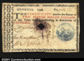 Colonial Notes:Georgia, Georgia 1776 $2 Extremely Fine Canceled. This note is an ex...