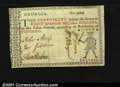 Colonial Notes:Georgia, Georgia (1776) $8 Very Fine-Extremely Fine. This is the nic...