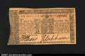 Colonial Notes:Maryland, Maryland April 10, 1774 $1 Gem New. Incredible grade for th...