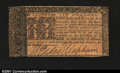 Colonial Notes:Maryland, Maryland April 10, 1774 $6 Very Fine. A lightly stained exa...