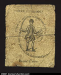 Colonial Notes:Massachusetts, Massachusetts December 7, 1775 3s Fine. Save for some very ...
