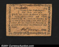 Colonial Notes:Massachusetts, Massachusetts June 18, 1776 5s4d Extremely Fine. Not priced...