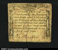 Colonial Notes:Massachusetts, Massachusetts October 18, 1776 8d Very Fine. This nice Codf...