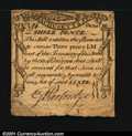 Colonial Notes:Massachusetts, Massachusetts October 16, 1778 3d Very Fine. Boldly printed...