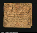 Colonial Notes:Massachusetts, Massachusetts October 16, 1778 6d Fine. Well circulated but...
