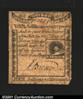 Colonial Notes:Massachusetts, Massachusetts 1779 4s8d Fine-Very Fine. A well margined, we...