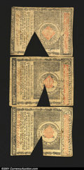 Colonial Notes:Massachusetts, Massachusetts May 5, 1780 Guaranteed Issue. Two $1 and a $7...