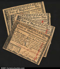 Colonial Notes:Massachusetts, Massachusetts May 5, 1780 Guaranteed Issue. An $8 example a...