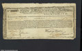 Colonial Notes:Massachusetts, Massachusetts Commodity Bond January 1, 1780 Extremely Fine....