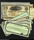 Colonial Notes:Massachusetts, Massachusetts Treasury Collector Certificate 1787 Extremely F...