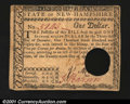 Colonial Notes:New Hampshire, New Hampshire April 29, 1780 $1 About New. An attractive ex...