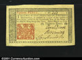 Colonial Notes:New Jersey, New Jersey March 25, 1776 18d Superb Gem New. The margins a...