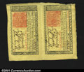Colonial Notes:New Jersey, New Jersey March 25, 1776 3s and 6s Vertical Pair. This is ...