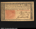 Colonial Notes:New Jersey, New Jersey March 25, 1776 6s Superb Gem New. A very well ma...
