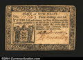 Colonial Notes:New Jersey, New Jersey January 9, 1781 3s6d Choice Extremely Fine. Ther...