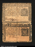 Colonial Notes:New York, Two September 2, 1775 New York Notes. The first is a $3 whi...