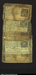 Colonial Notes:New York, Five August 13, 1776 New York Notes. $1/4 Very Fine, $2...