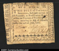 Colonial Notes:North Carolina, North Carolina July 14, 1760 20s Very Fine. There are a num...