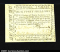 Colonial Notes:North Carolina, North Carolina December 1768 40s Extremely Fine-About New. ...