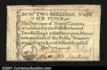 Colonial Notes:North Carolina, North Carolina December 1771 2s6d Superb Gem New. This deno...