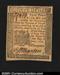 Colonial Notes:Pennsylvania, Pennsylvania June 18, 1764 3d Superb Gem New. Virtually ide...