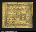 Colonial Notes:Pennsylvania, Pennsylvania April 3, 1772 2s Fine. Signed by John Morton, ...