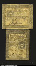 Colonial Notes:Pennsylvania, Two Pennsylvania Lighthouse Notes. Both, a 4s and a 16s, ar...