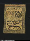 Colonial Notes:Pennsylvania, Pennsylvania October 1, 1773 15s About New. Closely margine...