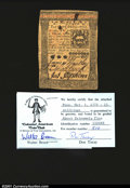 Colonial Notes:Pennsylvania, Pennsylvania October 1, 1773 15s Extremely Fine. An attract...