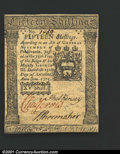 Colonial Notes:Pennsylvania, Pennsylvania October 25, 1775 15s Very Choice New. The bott...