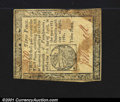 Colonial Notes:Pennsylvania, Pennsylvania April 20, 1781 3d Extremely Fine. This note, w...