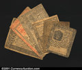 Colonial Notes:Pennsylvania, Pennsylvania: a Mixed Group. July 20, 1775 30s Very Fine...
