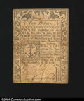 Colonial Notes:Rhode Island, Rhode Island September 5, 1776 $2 Very Fine-Extremely Fine....