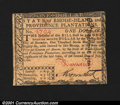 Colonial Notes:Rhode Island, Rhode Island July 2, 1780 $1 Choice New. Fully signed and i...