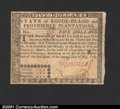 Colonial Notes:Rhode Island, Rhode Island July 2, 1780 $5 Choice New. Fully signed with ...